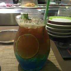 Trà tea pop - Curacao của meowmeow2001 tại Kichi Kichi Lẩu Băng Chuyền - Vincom Center - 611111