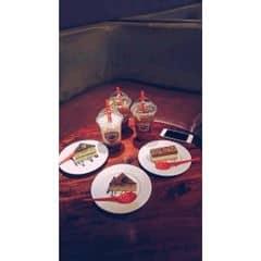 Trà thạch đào + trà thanh đào của Toàn Vũ tại Highlands Coffee - Pacific Place - 843638