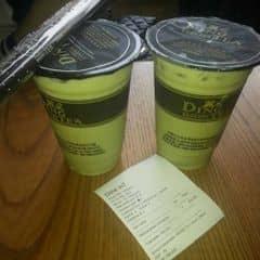 Uống ở đây cũng nhiều nhưng chỉ thích uống cái này , trà xanh cốc vừa không chán trâu thì 32k , thêm thì sẽ hơn .