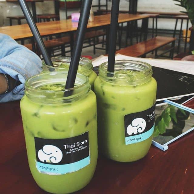 Trà xanh sữa thai của Bảo Bối tại Thai Siam - Cổng Trường ĐH Hà Nội - 26205