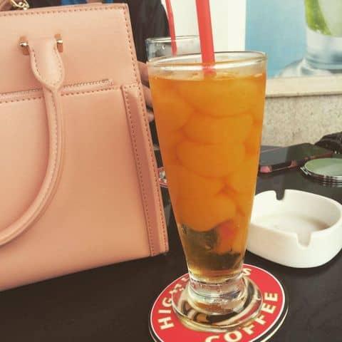 Các hình ảnh được chụp tại Highlands Coffee - Pacific Place