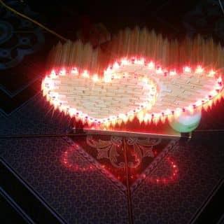 Trái tim bằng tăm quế của hotmail997 tại 165 Ngô Gia Tự, Thành Phố Bắc Giang, Bắc Giang - 1245405