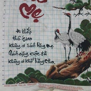 Tranh thêu chữ thập của ngocnghechnhi tại Tình lộ 824,  Thị Trấn Đức Hòa, Huyện Đức Hòa, Long An - 1074577