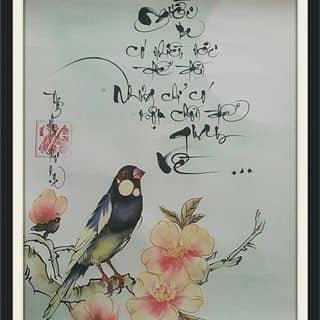 Tranh thư pháp của thuphapthienhoa tại Chợ Trà Vinh, phường 3, Thị Xã Trà Vinh, Trà Vinh - 1573884