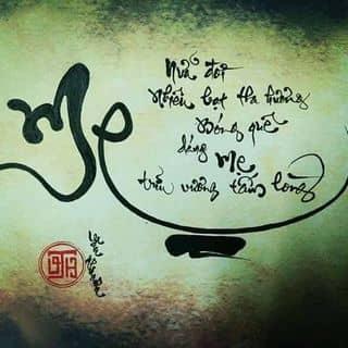 Tranh thư pháp về Mẹ của nguyenvanthanh24 tại Phú Yên - 1017060
