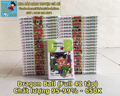 Truyện tranh DRAGON BALL (7 viên ngọc rồng) - Trọn bộ 42 tập
