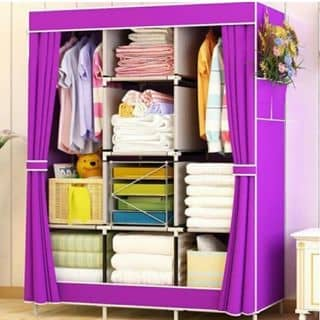 Tủ quần áo 3buồng 8ngăn của cochong tại Hà Nam - 3816471