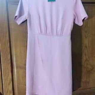 Váy hồng nhấn eo tà trước lên dáng rất xinh ạ của hangltt20 tại Hà Tĩnh - 947456