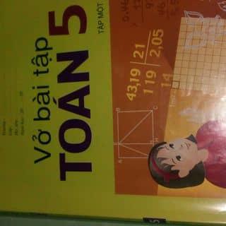 Vở bài tập toán 5 tập 1 của nguyenlinhlam tại Thừa Thiên Huế - 1961960