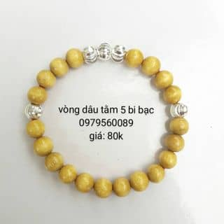 Vòng dâu tằm 5 bi bạc của doxinhchobe tại Hải Dương - 1156231