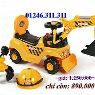 Xe ô tô cẩu điện cho bé của lenhung329 tại Hồ Chí Minh - 3758639