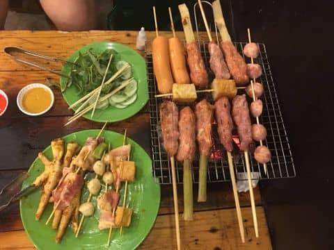 Xiên nướng - 858579 phuonuyn - Happy BBQ - Xiên Nướng Đồng Giá - 146 Lý