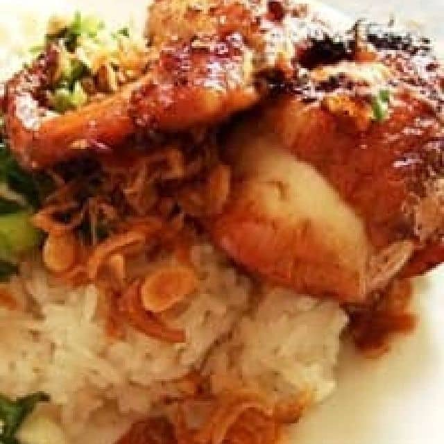 Xôi gà của Kim Trinh tại Xôi Chè Bùi Thị Xuân - Cầu Bông - 2628