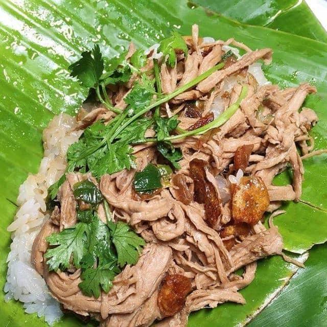 Xôi gà của Ni Cherry tại Xôi Lá Chuối - Trần Hưng Đạo - 80923